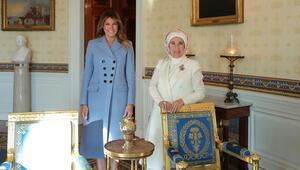 Emine Erdoğandan ev sahipliği için Melania Trumpa teşekkür