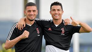 Juventustan Merih Demiral ve Ronaldo paylaşımı