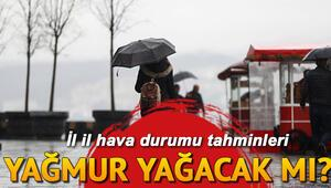 Yarın hava nasıl olacak, yağmur yağacak mı 15 Kasım Cuma il il hava durumu raporu