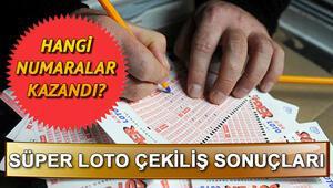 Süper Loto 14 Kasım çekiliş sonuçları MPİ tarafından açıklandı Milli Piyango Süper Loto sorgulama