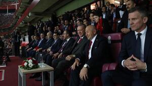 TFF Başkanı Nihat Özdemir: Bu mutluluk ölçülemez