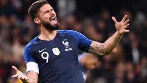 Fransa liderliği 2 golle aldı