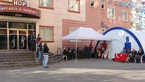 HDP önündeki eylemde 74üncü gün