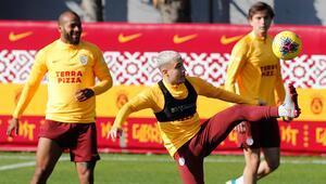 Galatasarayda eksik Başakşehir mesaisi