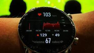 Huawei Watch GT2, Türkiye-İzlanda maçında stres ölçtü