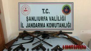 Viranşehirde silah kaçakçılığına 4 tutuklama