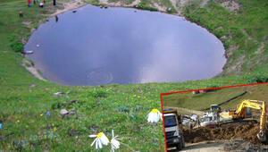 İşte define kazısı yapılan Dipsiz Gölün son hali