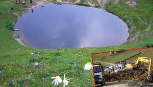 İşte Dipsiz Gölün son hali