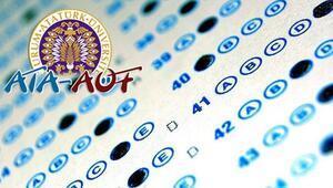 ATA AÖF sınavı saat kaçta başlayacak ATA AÖF sınavı kaç dakika
