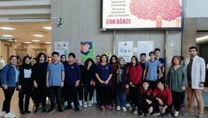 Öğrencilere organ bağışının önemi anlatıldı