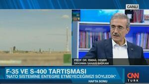 Savunma Sanayii Başkanı, S-400 ve F35 tartışmasına değindi