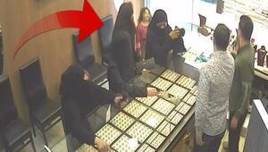 Hırsızları fotoğraftaki detayla yakayı ele verdi