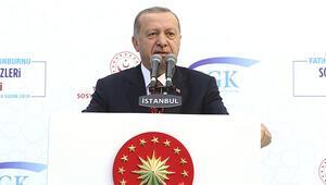 Son dakika: Cumhurbaşkanı Erdoğan'dan EYT açıklaması: 'Biz bunu yapmayacağız'