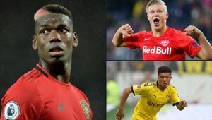 Pogba Juveye, Haaland ve Sancho Manchester Uniteda