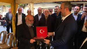 Adalet Bakanı Gül, taziye ziyaretlerinde bulundu