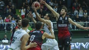 Teksüt Bandırma: 99 - Gaziantep Basketbol: 72