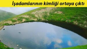 Heyet huzurunda gölü kuruttular