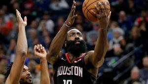 NBAde günün sonuçları | Houston, Hardenın şovuyla kazandı