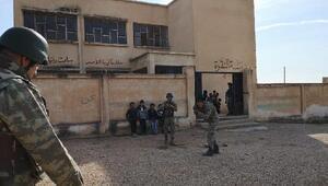 Bakanlık açıkladı... PKK/YPG Rasulaynda okulu mevzi yapmış