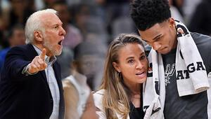 Popovich gitti, Hammon kontrolü aldı NBA tarihinde ilk...