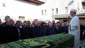 Oğuz Çetinin vefat eden babası Nihat Çetin son yolculuğuna uğurlandı