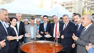Şanlıurfada 5 bin kişi Ali Dede sofrasında buluştu