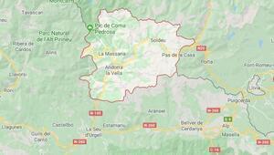 Andorra nerede, nüfusu ne kadar İşte Andorranın harita üzerindeki coğrafi konumu