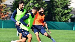 Medipol Başakşehir, Galatasaray maçının hazırlıklarını sürdürdü