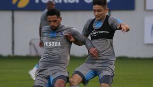 Trabzonspor, MKE Ankaragücü maçının hazırlıklarını sürdürdü