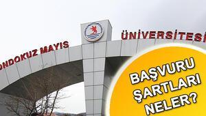 Ondokuz Mayıs Üniversitesi 13 öğretim ve araştırma görevlisi alacak Başvuru şartları neler