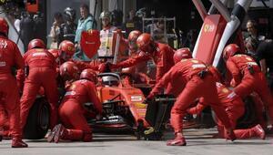 Ferrariden tarihi hata Vettel ile Leclerc...
