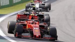 Formula 1de Ferrari Vettel Leclerc kazasının şokunu yaşıyor