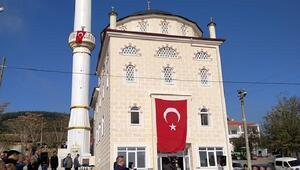 Şarköyde yapımı tamamlanan cami ibadete açıldı