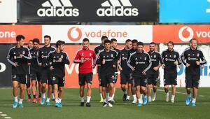 Beşiktaşta Konyaspor hazırlıkları sürüyor Caner, Burak, Vida, Karius...
