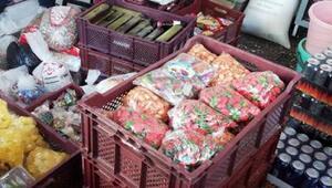 Ispartada kaçak gıda operasyonu