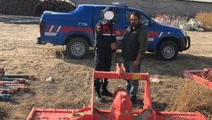 Tarım aleti hırsızlığına 1 gözaltı