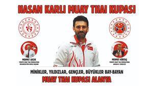 Hasan Karlı Muaythai Turnuvası Alanyada yapıldı