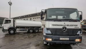 Yenimahalle tankerleri 8'ledi