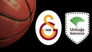 Galatasaray Doğa Sigorta Unicaja Malaga basketbol maçı saat kaçta ve hangi kanalda