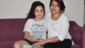 Menenjit yüzünden bacağını kaybeden Melis, yardım istiyor