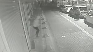 Zeytinburnundaki silahlı çatışma kamerada