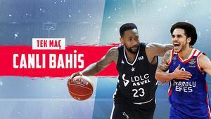 Euroleague maçlarına Misli.comda TEK MAÇ fırsatı, CANLI BAHİS keyfi