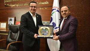 Türk Şeker Genel Müdürü Mücahit Alkandan Başkan Kanara ziyaret