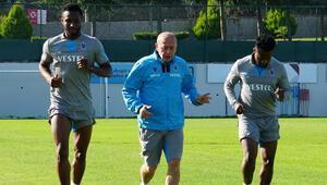 Trabzonsporda toparlanma çalışması