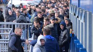 Dinamo Zagreb taraftarlarından büyük çılgınlık Atalanta maçı için...