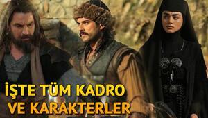 Kuruluş Osman'da kim kimdir İşte Kuruluş Osman dizisinin oyuncuları ve karakterleri