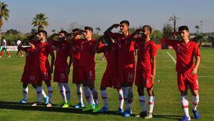 Bulgaristanı 2-1 yenen 19 Yaş Altı Milli Takımı, Elit Tur'a yükseldi
