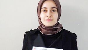 Cambridge'in Türkçe anadil sınavında dünya birincisi