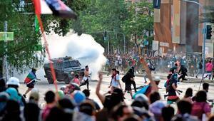Şili Devlet Başkanı Pinera: 'Orantısız güç kullanıldı'