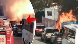 Kadıköy'de korkutan anlar Lüks cip bomba gibi patladı…